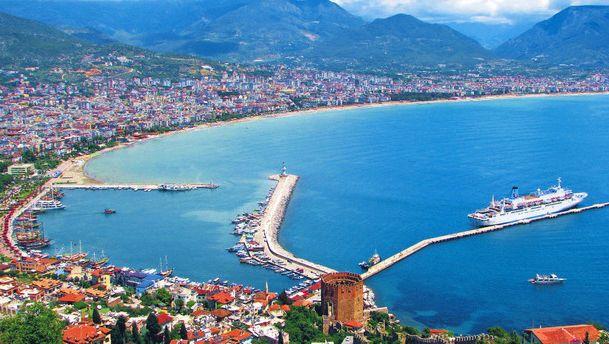 картинка фотография курорта Анатолийское побережье в Турции